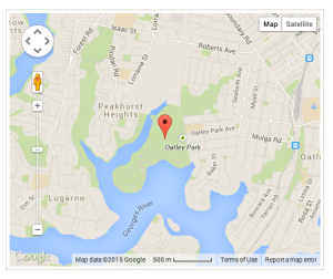 Oatley park map